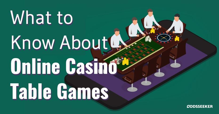 How to play Online Casino Table Games in the US