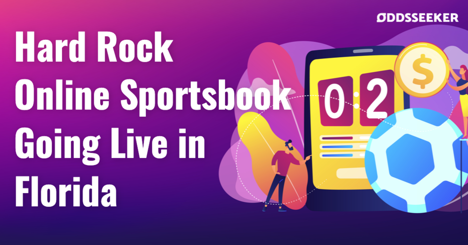 Online Sportsbooks are now legal in Florida. Hard Rock will be the first to launch an Online Sportsbook in the Sunshine State